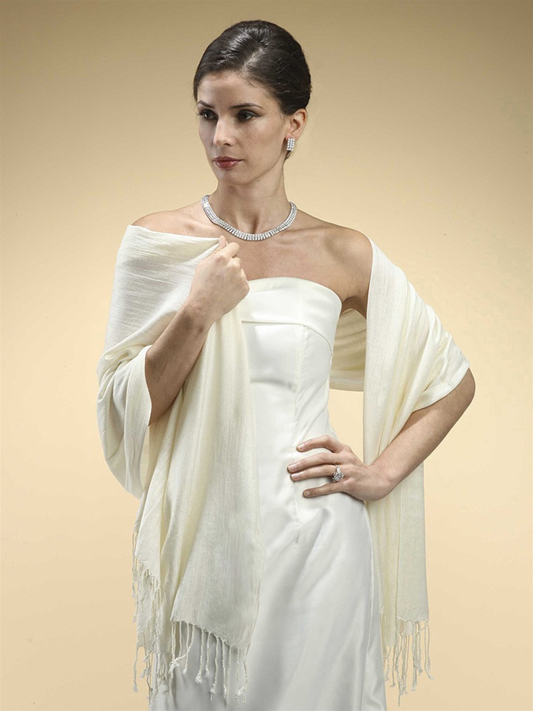 Pashmina Style Evening Wrap or Shawl<br>3260W