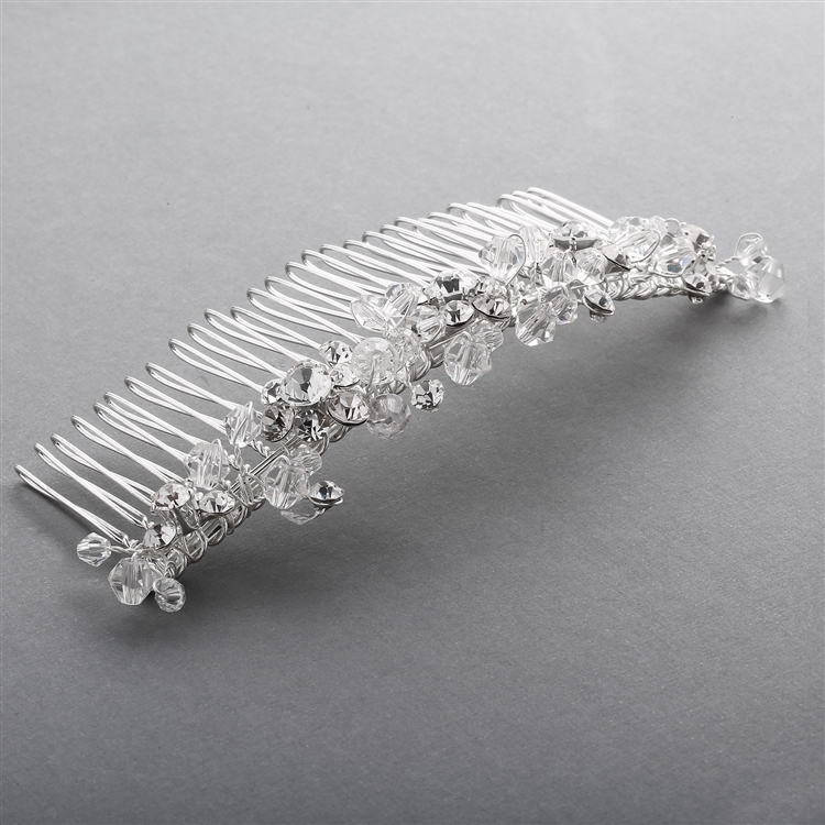 NEW LOWER PRICE! Swarovski Crystal Bridal Headpiece<br>3304TC