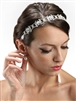 Swarovski Crystal Bridal Headband or Belt with Ribbon<br>3324HB