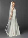Floor or Chapel Length Mantilla Lace Bridal Veil<br>3325V-I