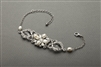 Top-Selling Freshwater Pearl & Crystal Wedding Bracelet<br>4062B