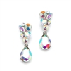 Crystal Bridal or Prom Earrings<br>4192E-AB