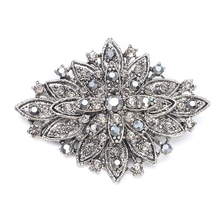 Best Selling Vintage Floral Bridal Brooch<br>471P-HM