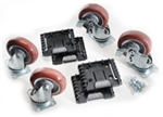 Pelican 0500/0550 Caster Wheel Kit