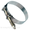 Ideal Stainless Steel Spring-Loaded T-Bolt Clamp Size 306
