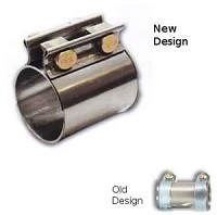 "Exhaust Sleeve Clamps, 2.50"" OD"