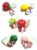 Bunny's Cafe Tropical Fruit Series Tag Squishy 6pc Set