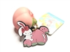 Bunny's Cafe Tropical Fruit Series Peach Tag Squishy