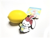Bunny's Cafe Tropical Fruit Series Lemon Bunny Tag Squishy