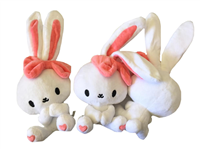 Bunny's Cafe Sweet Bunny Magnetic Plush