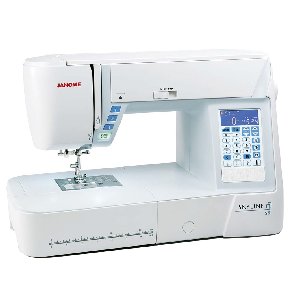 Best Threads For Machine Quilting: Janome Skyline S3 Quilting / Sewing Machine