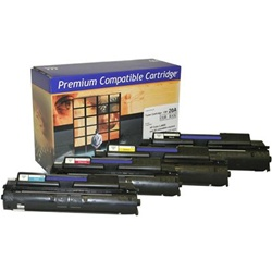 Color Toner for HP LaserJet 4700 Series - YELLOW