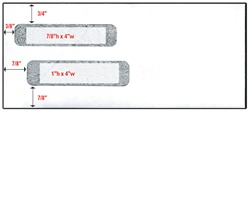 Double Window Check Envelope - Size 10