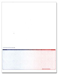 Bottom Form Laser Check - Blue-Red, 1 Perforation, & Control #