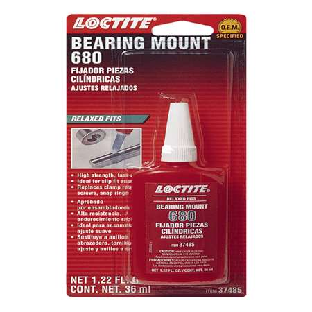 Henkel Loctite bearing mounts, part number 37485 qty 6.
