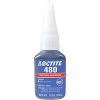 10 Pack Loctite 480 Prism Instant Adhesive, Black/Toughened - 20 g