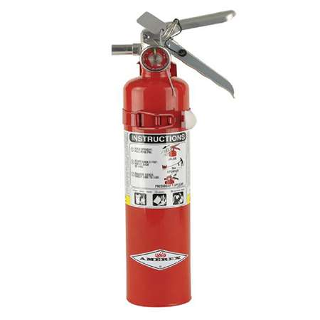 Amerex fire extinguisher, part number B417T.