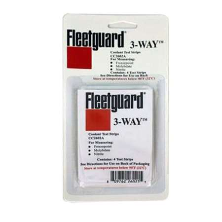 Fleetguard coolant analysis, part number CC2602A qty 25.