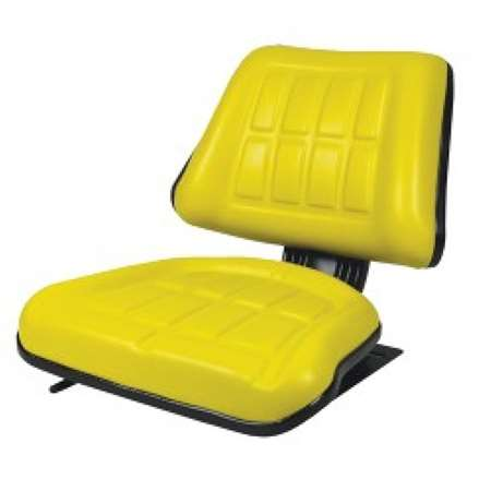 Concentric Universal Compact Seat with Slides, Yellow 50800-YE