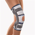 BORT StabiloGen® Open Patella Knee Support With Articulated Joint | Mild to moderate lateral ligament instability of the knee joint, | gonarthrosis | arthritis | bursitis | patellar chondropathy | L1820 |