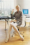 Jobst Opaque- thigh high 20 - 30 mmHg compression stockings