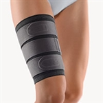 BORT Stabilo® Thigh Support | Muscular injuries to the thigh | (rupture of muscle fibre, muscle contusions) | treatment and prevention of sports injuries | to prevent recurring injuries |
