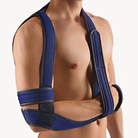 BORT OmoBasic® acc. to Gilchrist | Pre-operative | post-operative | post-traumatic | sprain | dislocation | subcapital humerus fractures | scapular fracture | rotator cuff injury | L3670 |