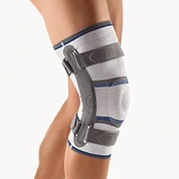 BORT Stabilo® Knee Support with Articulated Joint |  Mild to moderate lateral ligament instability |  of the knee joint | gonarthrosis |  arthritis | L1820 |