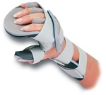 RCAI Resting Hand with Finger Separators Orthosis