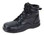 Aetrex Men's B4500 Black Lace-Up Work Boot