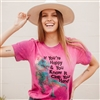 If You're Happy & You Know It Clap Your Hands T shirt Southern boutique wholesale graphic tee clothing by Pink Armadillos. Printed on our super soft Bella Canvas tees.