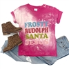 Dance Like Frosty Toddler t shirt. Southern boutique wholesale graphic tee clothing by Pink Armadillos. Printed on our super soft Bella Canvas tees.