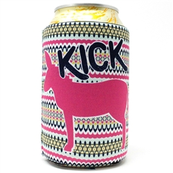 Kick Donkey... 12 Ounce Koozie Pack of 4