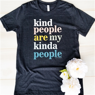 Kind People Are My Kinda People... Vintage Boyfriend Tee Pack of 6