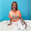 Keepin' The Faith boutique wholesale graphic tee by Pink Armadillos