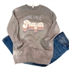 Livin' On A Prayer T shirt Southern boutique wholesale graphic tee clothing by Pink Armadillos. Printed on our super soft Bella Canvas tees.