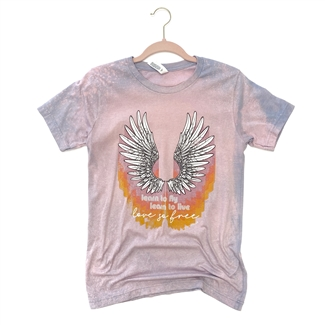 Learn To Fly T shirt Southern boutique wholesale graphic tee clothing by Pink Armadillos. Printed on our super soft Bella Canvas tees.
