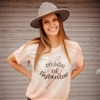 Made Of Lightning T shirt Southern boutique wholesale graphic tee clothing by Pink Armadillos. Printed on our super soft Bella Canvas tees.