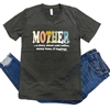 Motherhood t shirt. Southern boutique wholesale graphic tee clothing by Pink Armadillos. Printed on our super soft Bella Canvas tees.