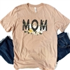 Mom Simply Blessed graphic t shirt. Southern boutique wholesale graphic tee clothing by Pink Armadillos. Printed on our super soft Bella Canvas tees.