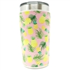 Feels like summer with this Pineapple Yeti® 20 oz. koozie or wine bottle sleeve!