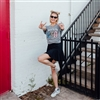 Rockin' In The USA T shirt Southern boutique wholesale graphic tee clothing by Pink Armadillos. Printed on our super soft Bella Canvas tees.