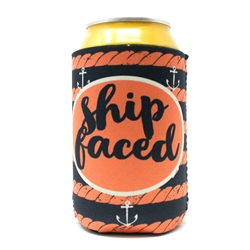 Ship Faced Koozie is the perfect koozie to get ship faced with this summer!