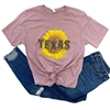 Sunflower State tee. Southern boutique wholesale graphic tee clothing by Pink Armadillos. Printed on our super soft Bella Canvas tees.