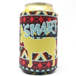 Smart Donkey... 12 Ounce Koozie