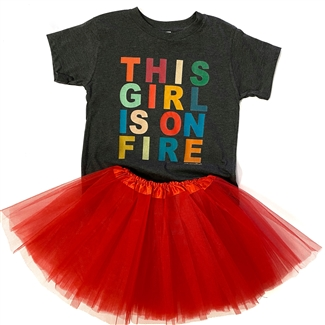 This Girl is on Fire...Toddler Littles Tee Pack of 6