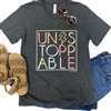 Unstoppable boutique wholesale graphic tee by Pink Armadillos