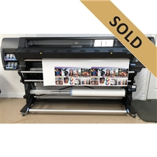 "HP DesignJet L365 64"" Latex Printer, Virtually BRAND NEW!!"