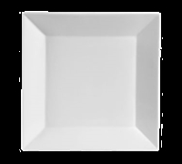 Square China Plate, 10""
