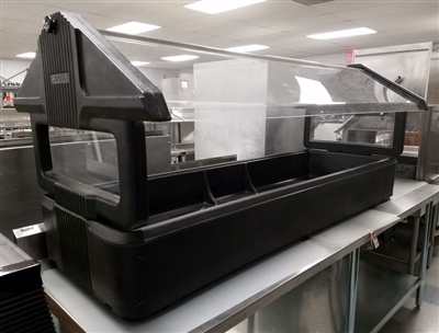 Used 5 Pan Table Top Salad Bar - Carlisle #660103